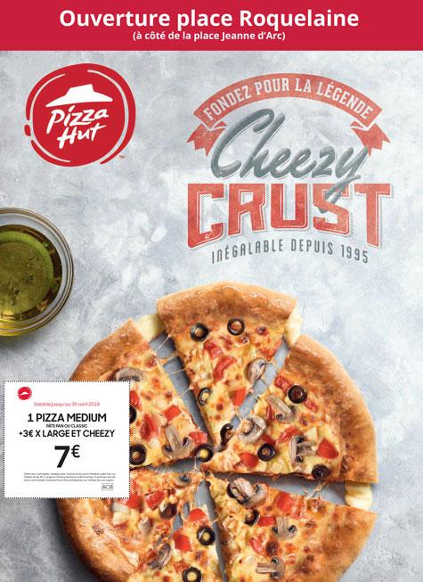 depliant A4 pizza hut