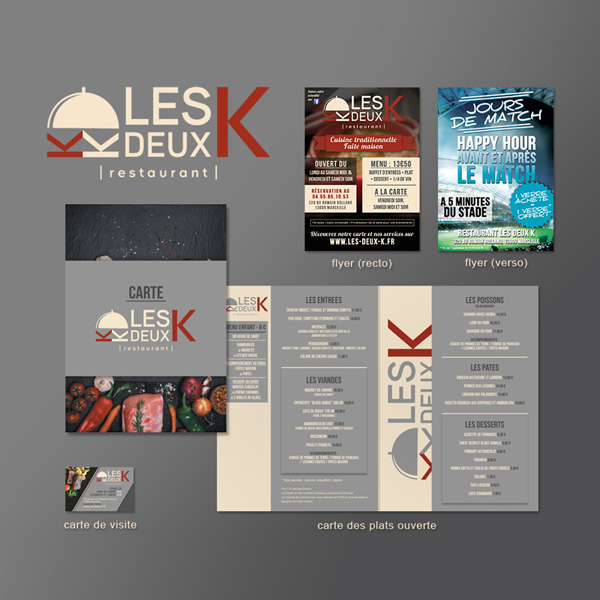 creation logo, carte menu, restaurant-marseille
