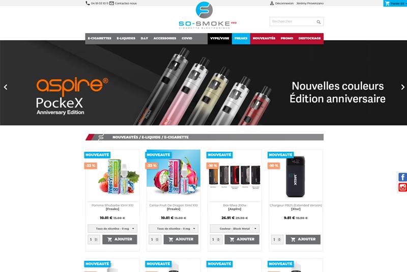 création boutique en ligne ecommerce marseille