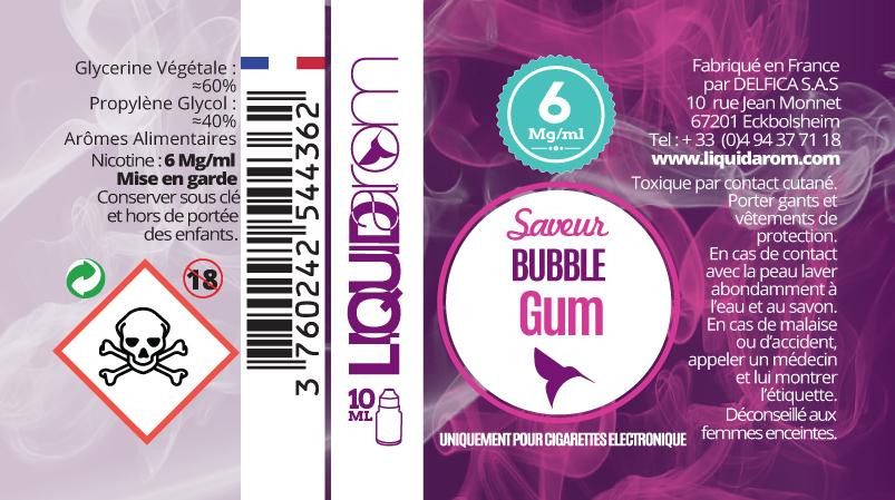 création étiquettes e-liquide
