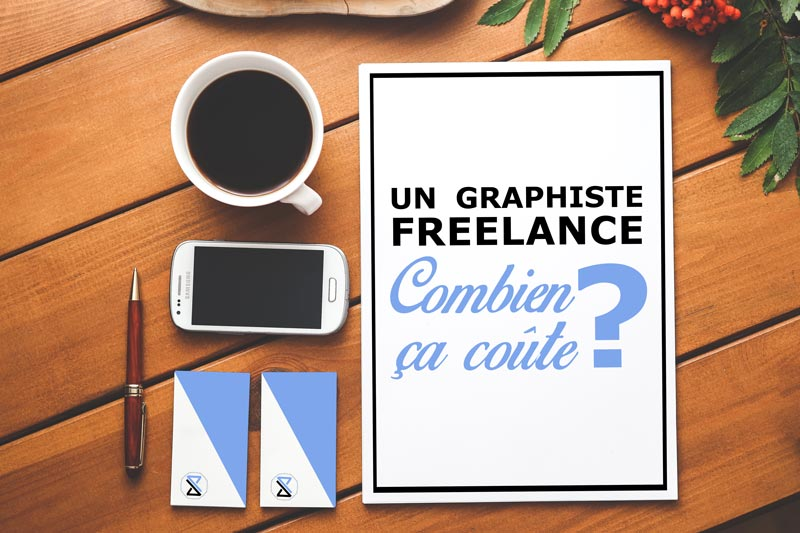 Un graphiste freelance, combien ça coûte ?